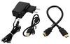 """Цветной сенсорный HDMI-дисплей для Raspberry Pi 1920×1080 / 11,6"""" в корпусе"""