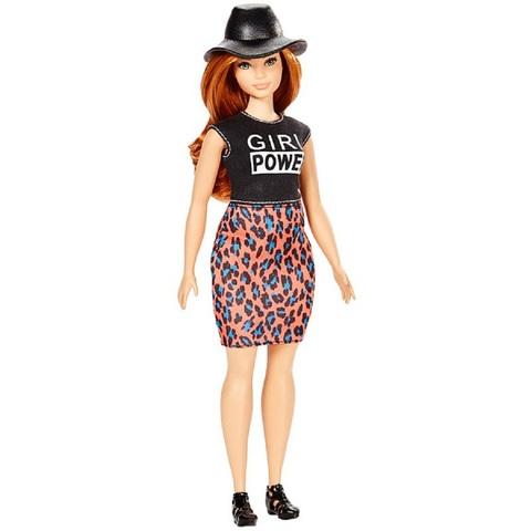 Барби Fashionistas 64 в Леопардовой Юбке
