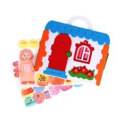 Сумка-игралка из фетра Кукольный домик