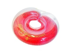 BabySwimmer Круг на шею 6-36 кг (клубника) (BS11-3)