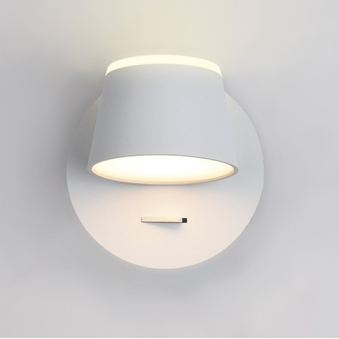 Настенный светодиодный светильник Ambrella FW166 WH/S белый/песок LED 3000K 10W 120*120*140