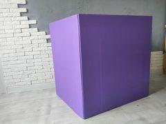 Большая коробка для шаров (фиолетовая) 60*80*80 см.