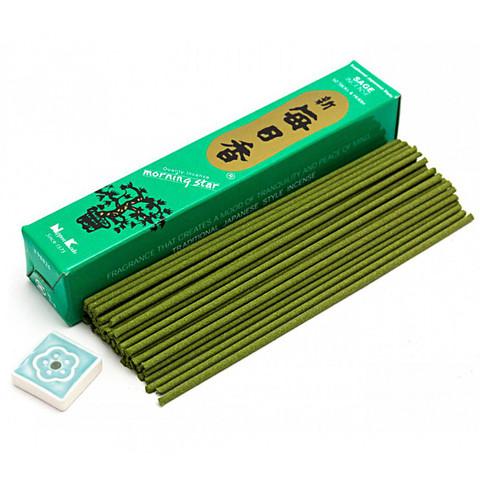 Японские благовония Morning Star MS Sage 50 шт