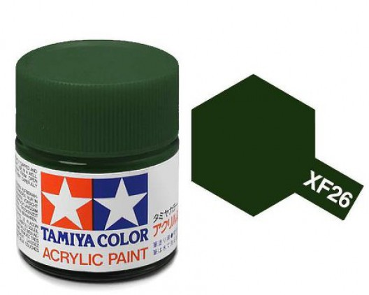Tamiya Акрил XF-26 Краска Tamiya, Насыщенный Зеленый Матовый (Deep Green), акрил 10мл import_files_02_02759ccc5aac11e4bc9550465d8a474f_e3fbec495b5511e4b26b002643f9dbb0.jpg