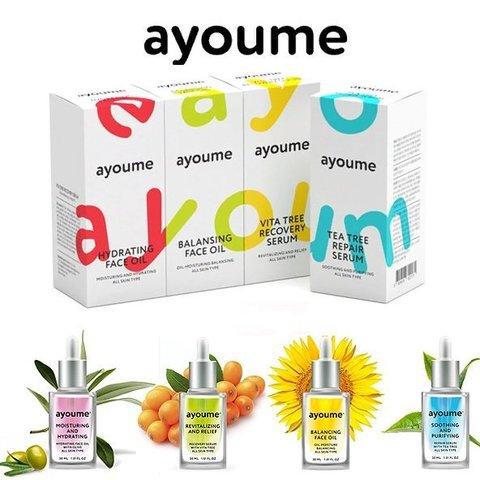 Сыворотка для лица восстанавливающая Ayoume Vita Tree Revitalizing & Relief Serum
