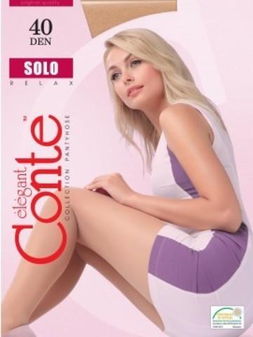 Conte Solo Колготки женские 40d, p.2 mocca