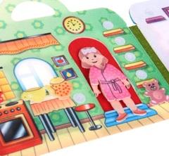 Игра из фетра Кукольный домик, Smile decor