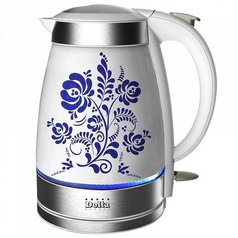 Чайник электрический Delta DL-1210 Гжель
