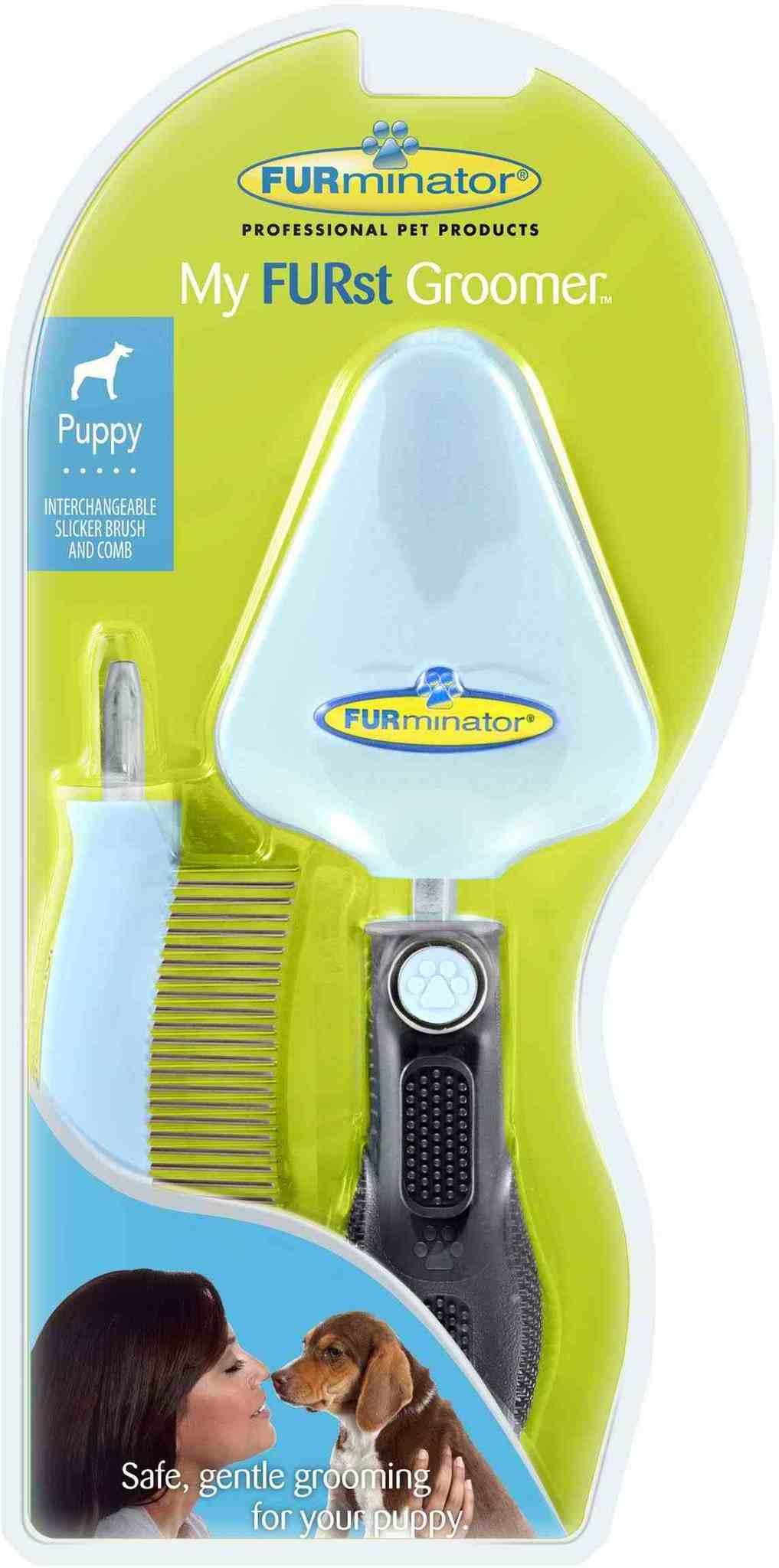 """Furminator FURminator для щенка набор """"Мой первый грумер"""" сликер+расческа My FURst Groomer 3dae089a-3cfd-11e0-1287-001517e97967.jpg"""