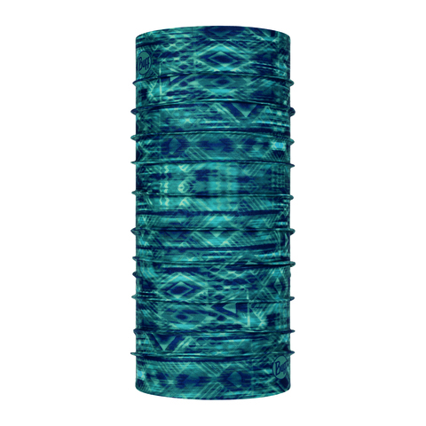 Бандана Buff CoolNet UV+ with InsectShield Neckwear Tantai Stel Blue (US:one size)