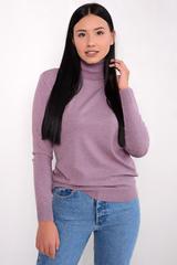 <p>Модный джемпер из мягкого кашемира отлично сочетается с юбкой, брюками и джинсами, создавая стильный ансамбль практичности и утонченности.</p> <p>&nbsp;</p> <p><span>(Один размер: 48-52)</span></p>
