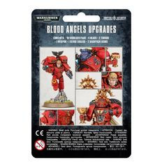 Blood Angels Upgrade Pack. Упаковка