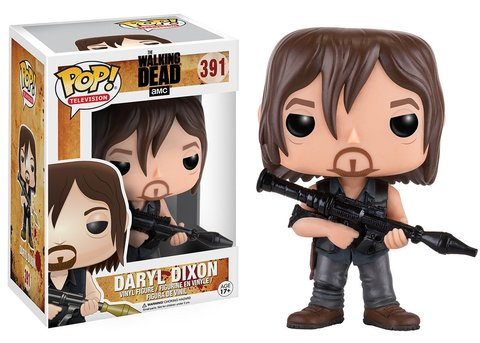 Фигурка Funko POP! Vinyl: The Walking Dead: Daryl w/ Rocket Launcher 11065