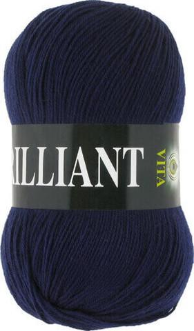 Пряжа Brilliant Vita 4990 темно-синий фото