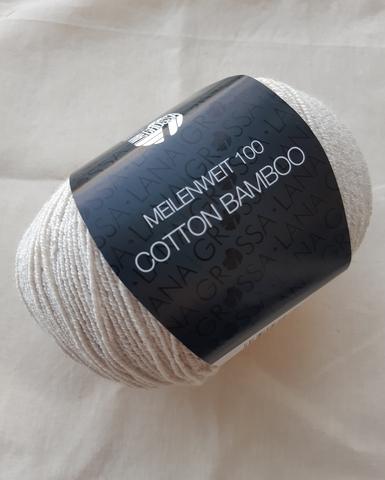 Lana Grossa Meilenweit Cotton Bamboo 011