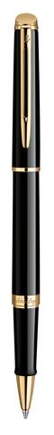 Ручка-роллер Waterman Hemisphere, цвет: Mars Black/GT, стержень: Fblk123