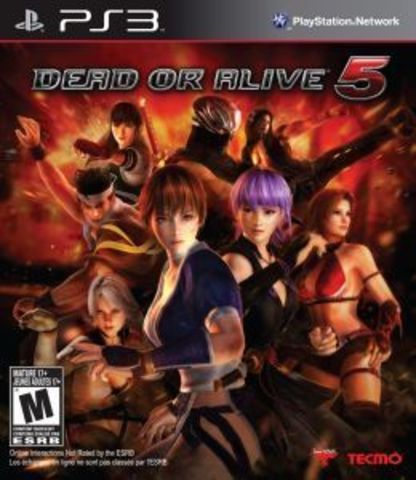 PS3 Dead or Alive 5 (английская версия)