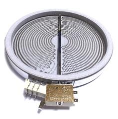 Конфорка с 3 зонами нагрева для электроплит с стеклокераммической варочной панелью Электролюкс/Занусси/АЕГ 3051747016