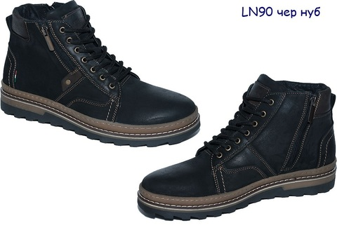 Кроссовки мужские черные LN 90w чнк