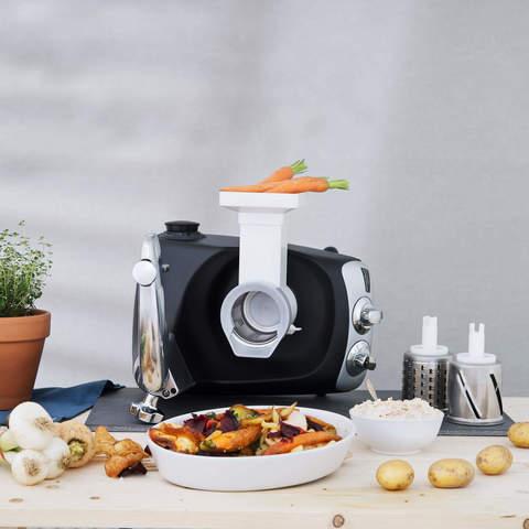 Кухонный комбайн Ankarsrum с комплектом дополнительных насадок