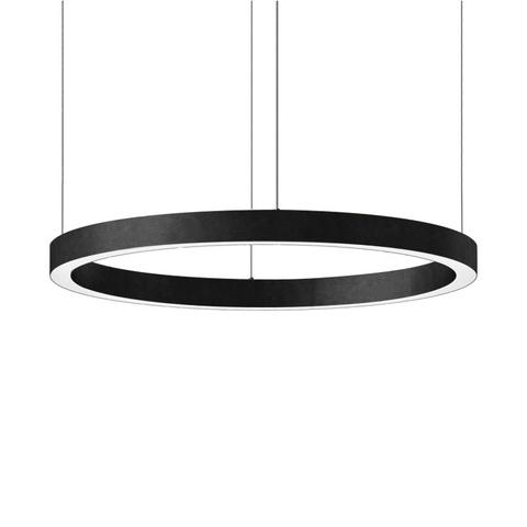 Подвесной светильник копия Light Ring by HENGE D120 (черный)