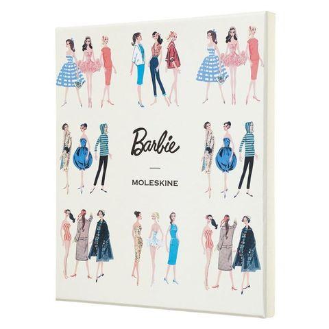 Блокнот Moleskine Limited Edition BARBIE LEBRQP060CLT 130х210мм обложка текстиль 240стр. линейка коллекционный