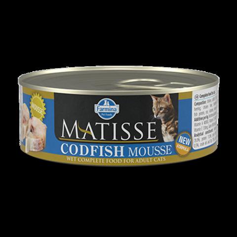 Farmina Matisse Cat Mouse Codfish Консервы для кошек Мусс с Треской