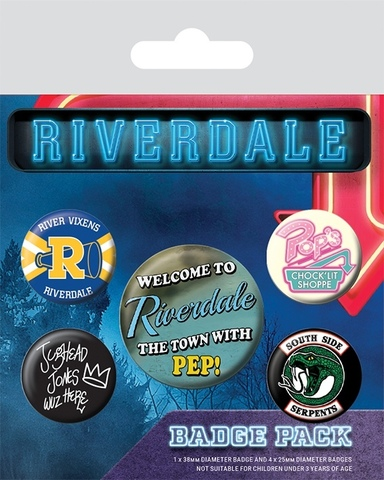 Набор значков «Ривердейл»