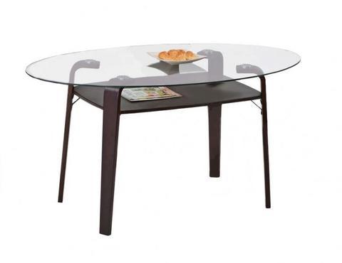 Обеденный стол GC 2417 стеклянный венге