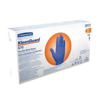 Kimberly-Clark KLEENGUARD* G10 Blue Nitrile Gloves (1*100шт) - Перчатки