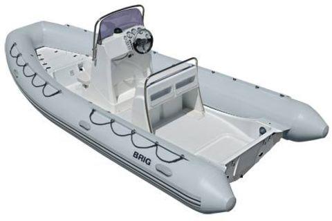 Лодка РИБ с жестким дном BRIG F570L