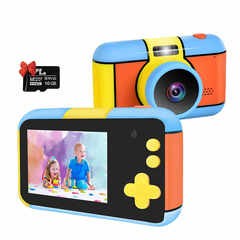 детский цифровой фотоаппарат микки маус без чехла 2020-2