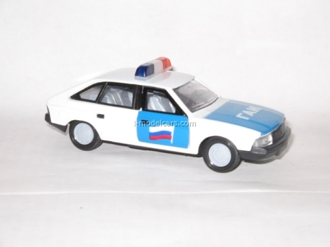 Moskvich-2141 GAI Police Russia Agat Mossar Tantal 1:43
