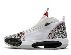 Air Jordan 34 SE 'White/Black/Grey'