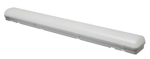 ULY-K70B 60W/5000K/L126 IP65 WHITE Светильник светодиодный промышленный. Белый свет (5000К). 6540Лм. 1260X150x100мм. Корпус белый. TM Uniel.