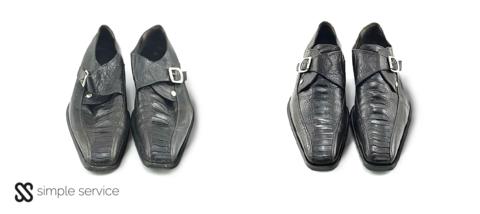 Для обуви из экзотической кожи