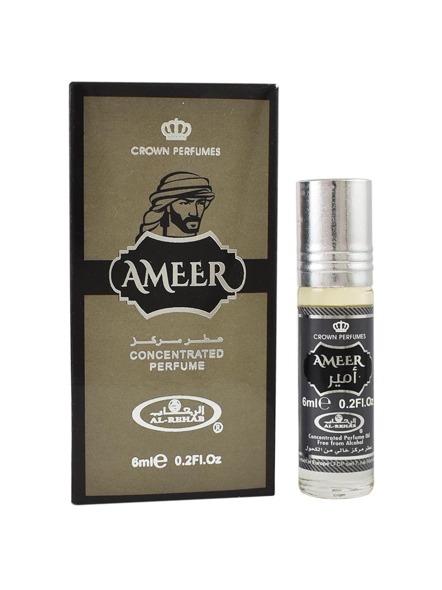 Ameer 6 мл арабские мужские масляные духи от Аль Рехаб Al Rehab