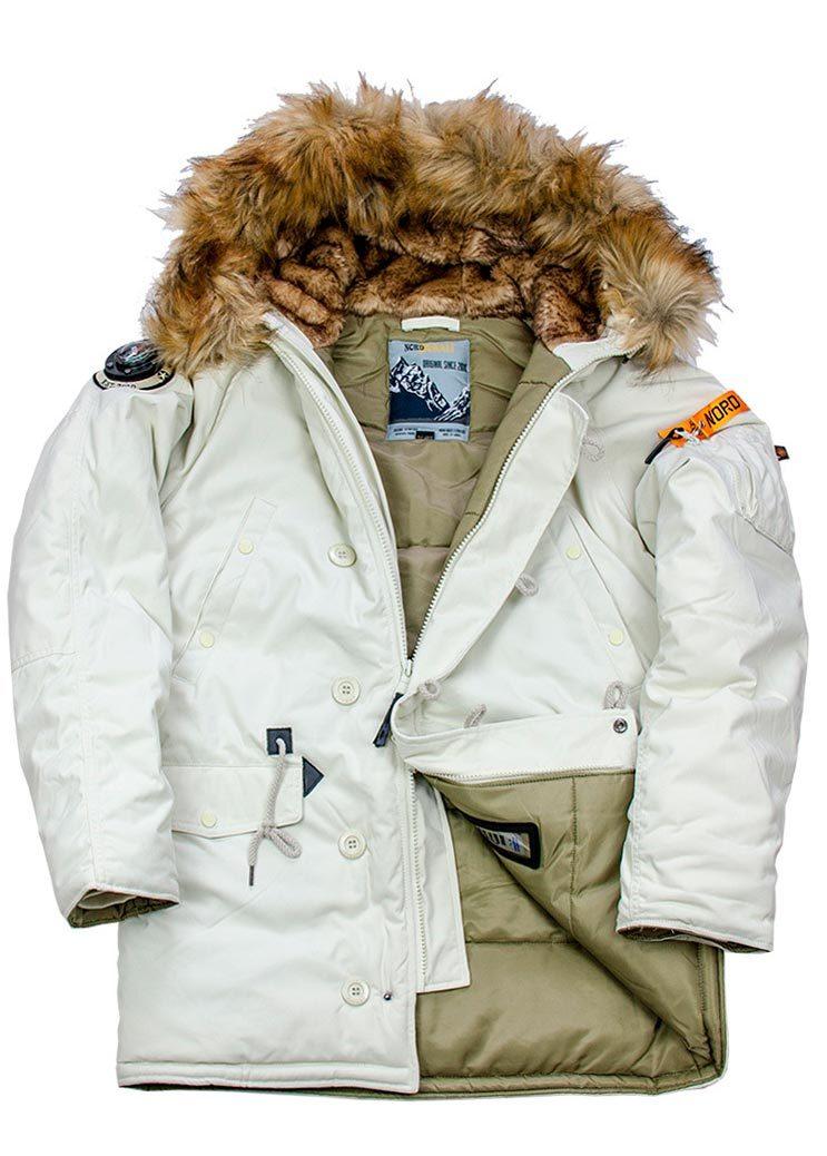 Куртка Аляска  Oxford 2.0 Denali  (светло-серая - silver sage/olive)