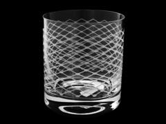 Набор из 6 бокалов для виски «Прозрачная вуаль», хрусталь