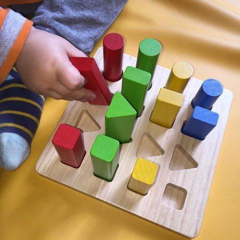 Геометрический сортер Plan Toys