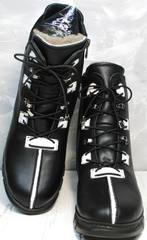 Модные ботинки на зиму Ripka 3481 Black-White.