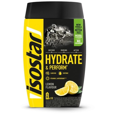Изотоник Isostar Hydrate Perform 400г лимон