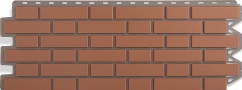 Фасадная панель Альта Профиль Кирпич клинкерный Красный 1220х440 мм