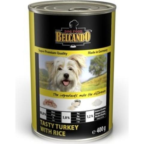 Belcando консервы для собак (индейка/рис) 400 г