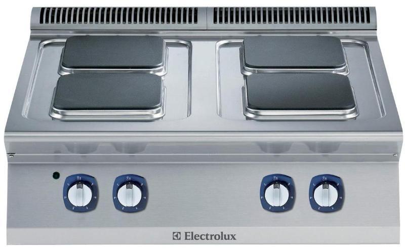 фото 1 Газовая плита 4-х конфорочная 700 серия Electrolux E7STGH1000371007 на profcook.ru