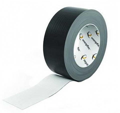 Лента армированная самоклеящаяся Energoflex шириной 48 мм - длина 25 м (цвет черный)