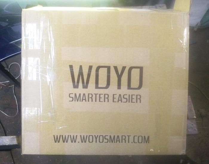 WOYO PDR 007. коробка