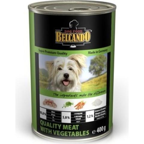 Belcando консервы для собак (мясо с овощами) 400 г