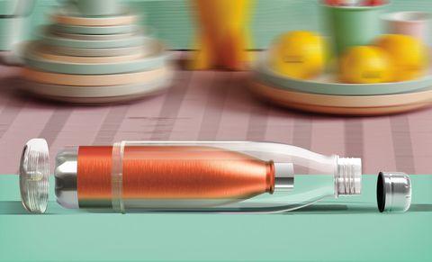 Бутылка Asobu Viva La Vie (0,54 литра), оранжевая