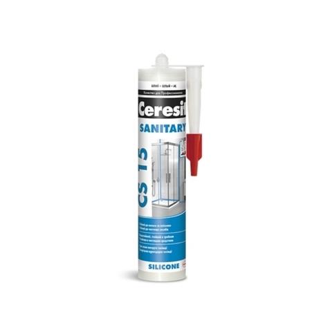Ceresit CS 15 SANITARY/Церезит ЦС 15 САНИТАРНЫЙ силиконовый герметик